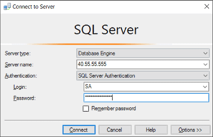 Auditing techniques for SQL Server databases